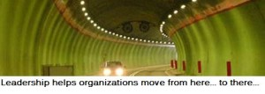 Leadership helps organizations move in the right direction.
